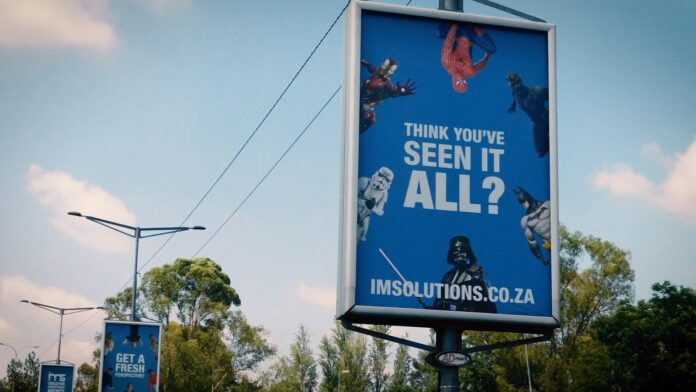 IMS Ad Agency outdoor banner advertisement