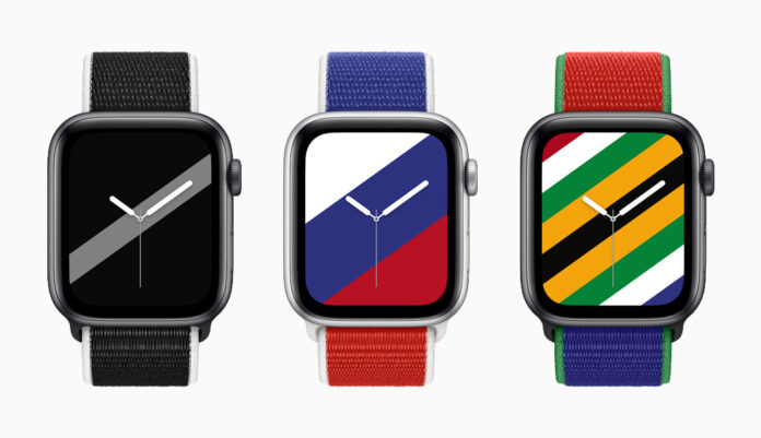 New Zealand, Russia and South Africa watch loop bands